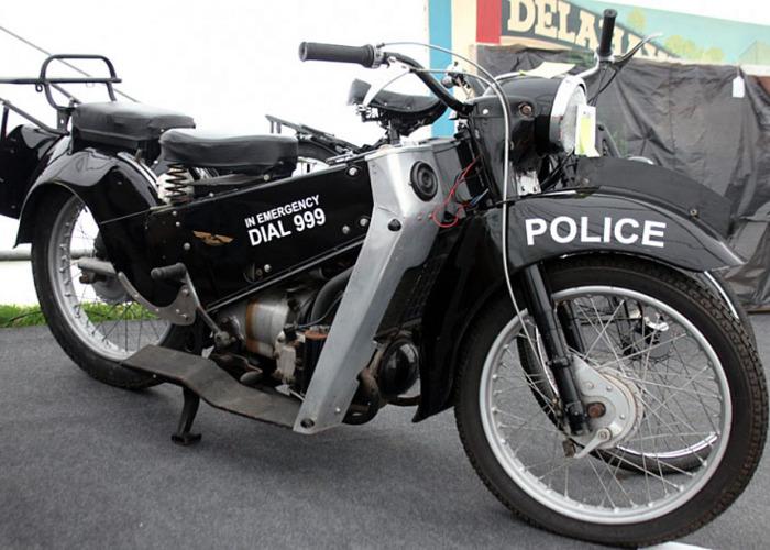 Velocette Motorcycles LE Police Bike (1969) - 2