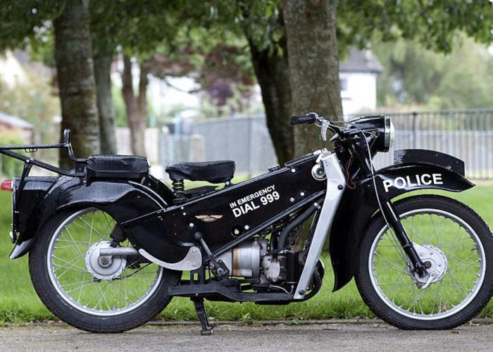 Velocette Motorcycles LE Police Bike (1969) - 1