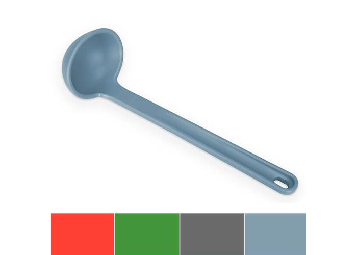 Venn Kitchen Silicone Ladle, 11.8-Inch, Blue - 1