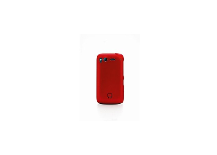 Venom Armour Shell Case for HTC Desire S - Metallic Red - VS 7181/ VS7181 - 2