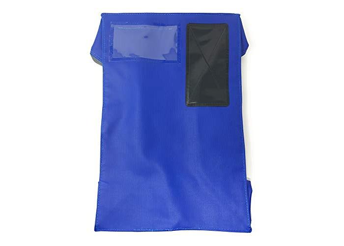 Versapak Mailing Pouch Durable PVC-Coated Nylon 37x24cm Blue - 1
