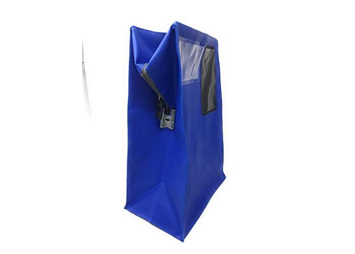 Versapak Mailing Pouch Durable PVC-Coated Nylon 37x24cm Blue - 2
