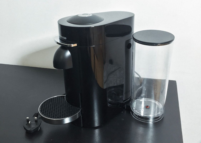 VertuoPlus Coffee Machine, Piano Black - 2
