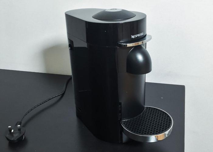 VertuoPlus Coffee Machine, Piano Black - 1
