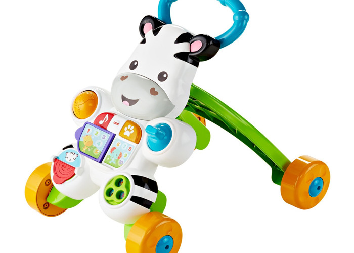 Very Educative Fisher-Price Learn With Me Zebra Walker - 1