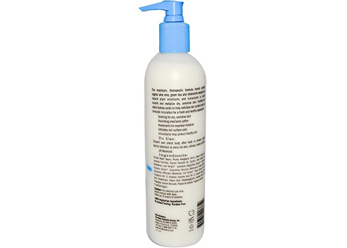 Very Emollient Body Lotion, Maximum Dry Skin Formula - Alba Botanica - 1