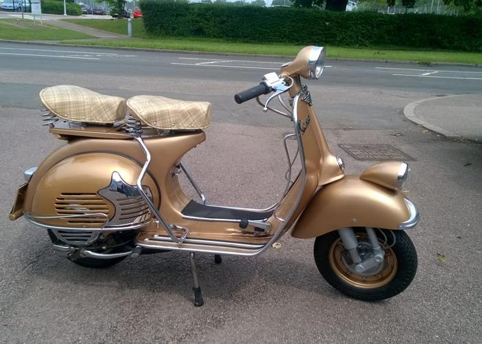 Vespa Scooter (1965) - 2
