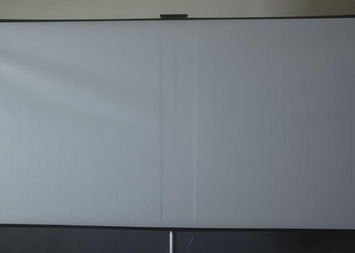 "VIDEO - 80"" Projection Screen Rental - 2"