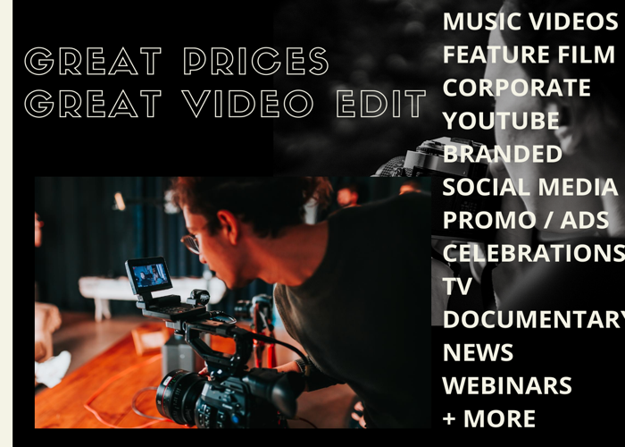 Professional Video Editor & Filmmaker - 1