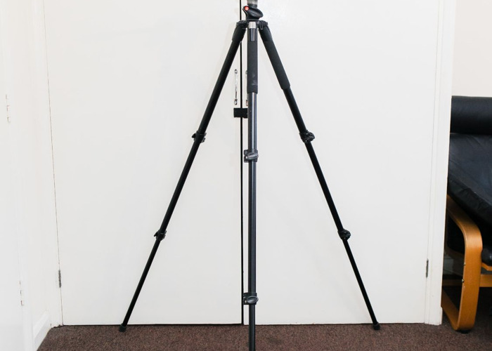 Video tripod Manfrotto 055XPRO with 128RC head - 1