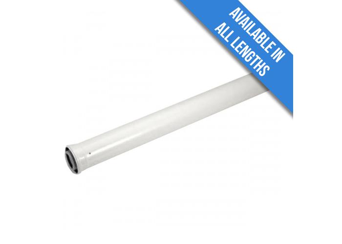 Viessmann Flue Extension (60/100mm) | 0.5m - 1