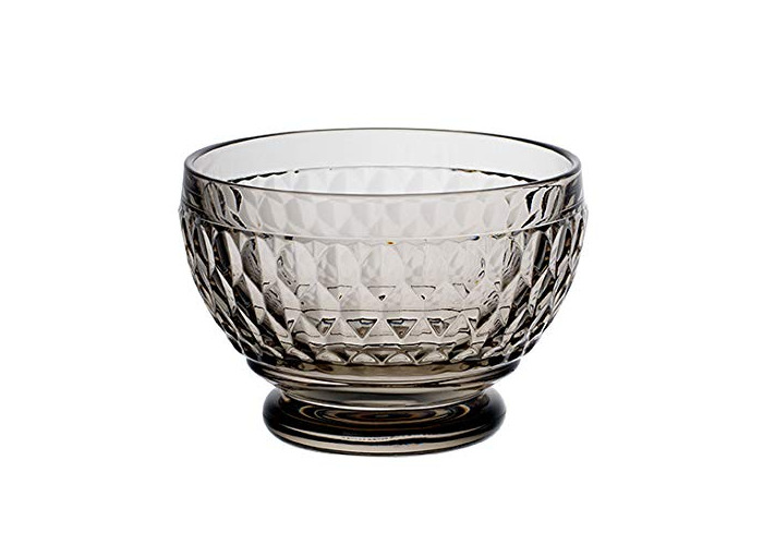Villeroy & Boch Bowl m, crystal glass, Grey, 81mm - 1
