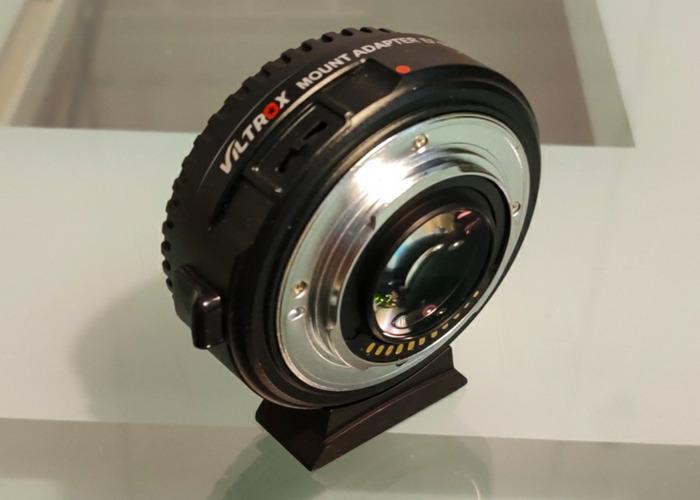 Viltrox EF- M2 Speedbooster EF-M43 focal reducer 0.71x - 1