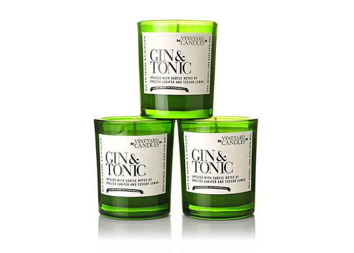 Vineyard Case Of 3 Gin & Tonic Shot Candles - 1
