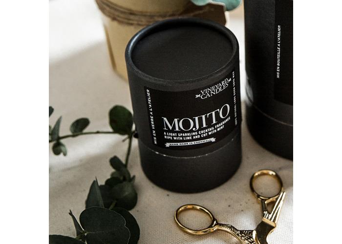 Vineyard Shot Glass Mojito Candle - 2