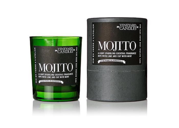 Vineyard Shot Glass Mojito Candle - 1