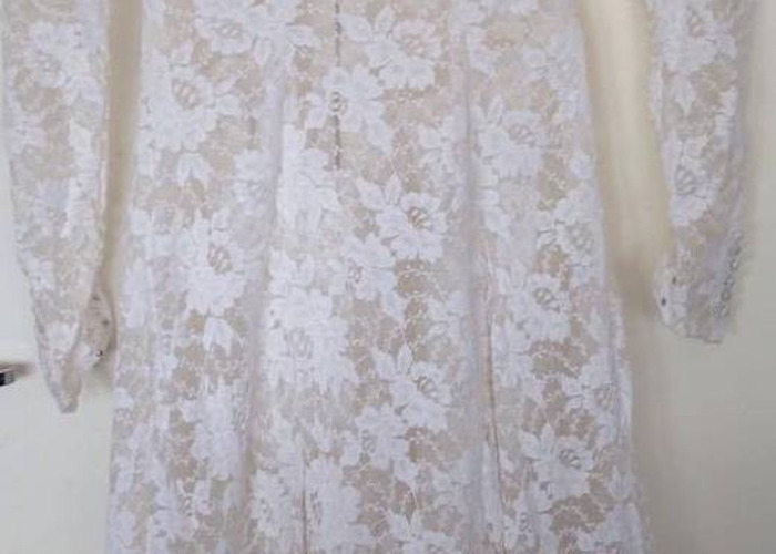 Vintage 1940s Wedding Dress - 2