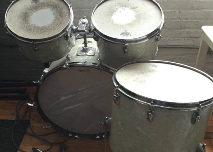 Rent Vintage 70s Slingerland Drums with Snare and Cymbals in Brooklyn
