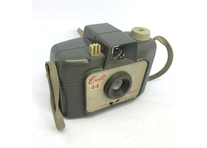 vintage Agilux Colt 44 127 roll film camera Rare retro collectible camera    374 - 1