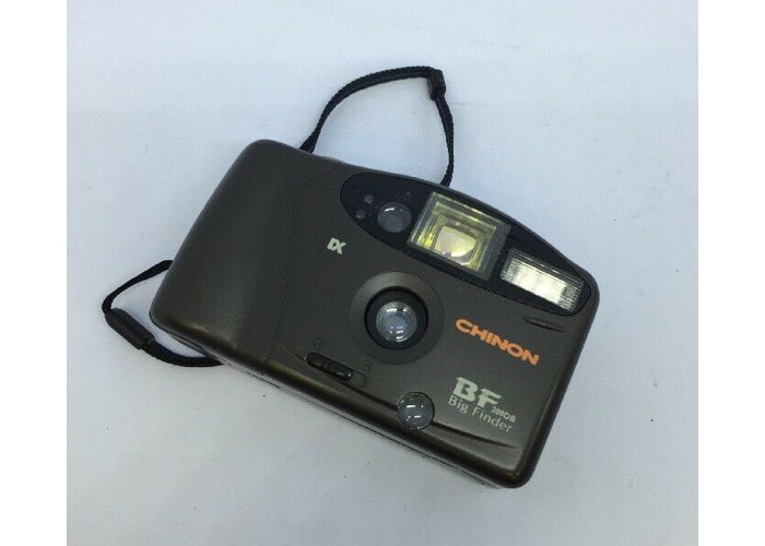 VINTAGE CHINON BF 200DB BIG FINDER CAMERA With BOXED!  - 2