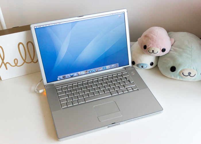 "Vintage Computer: PowerBook G4 15"" 1.67GHz High Res PowerPC  - 2"