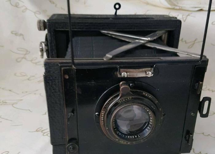 Vintage Contessa Nettel strut folding plate camera - 2