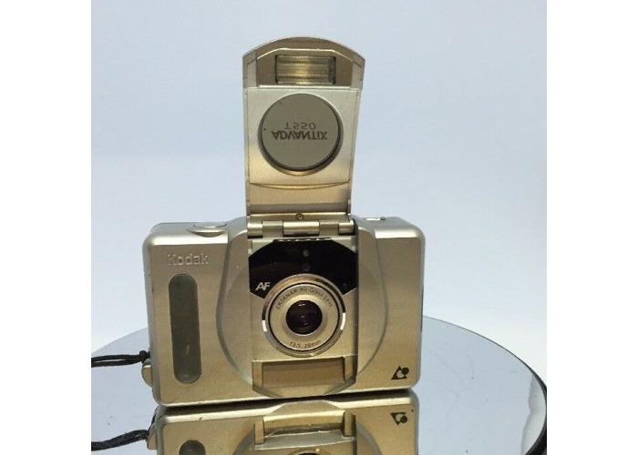Vintage KODAK ADVANTIX T550 Auto Focus APS Camera+Manual & Case Fully Working  - 2