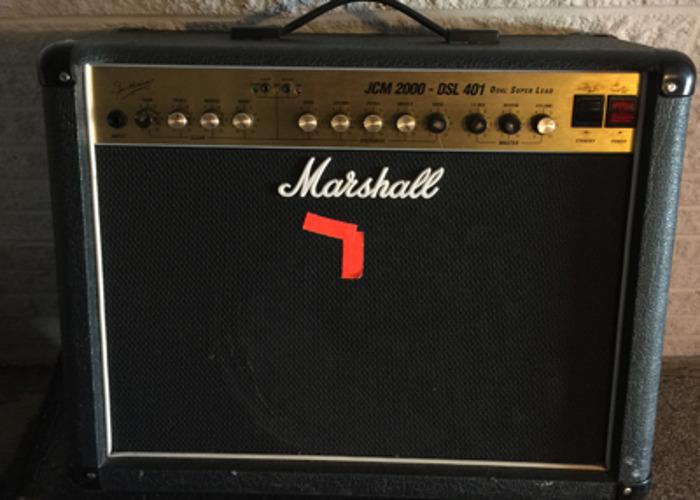 Vintage Marshal Value Amp JCM 2000 - DSL 401 - 1