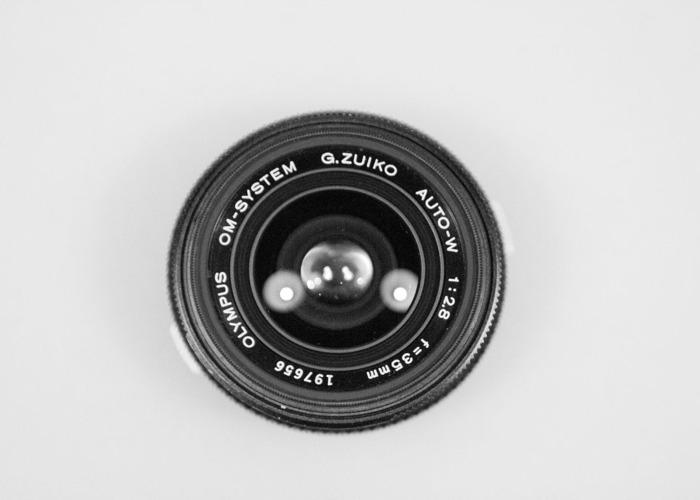 Vintage Olympus Zuiko Prime Lens Set  - 2