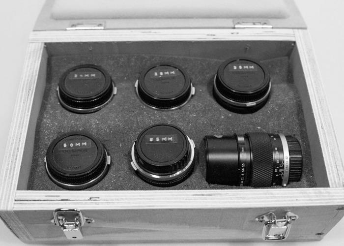 Vintage Olympus Zuiko Prime Lens Set  - 1
