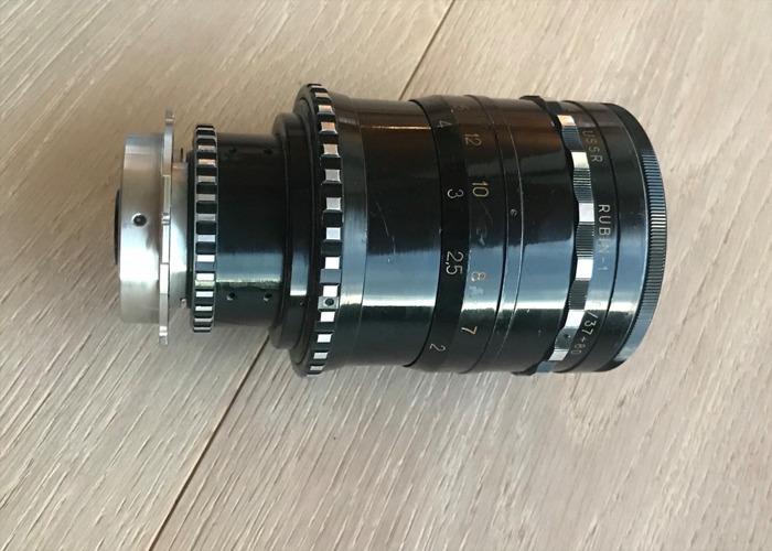Vintage Russian Rubin-1 Cinema Zoom lens PL Mount  - 1