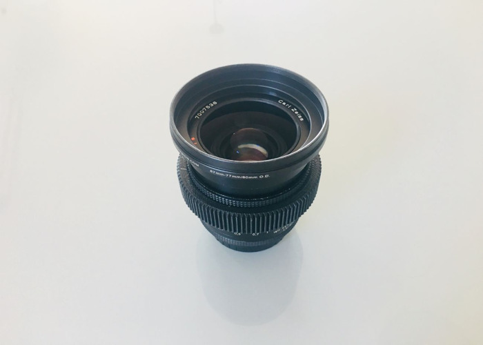 Vintage Zeiss Contax 35mm EF Lens EF (Canon) mount  - 1