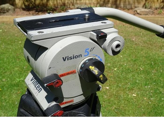 Vinten Vision 5 LF Professional Tripod Kit - 2