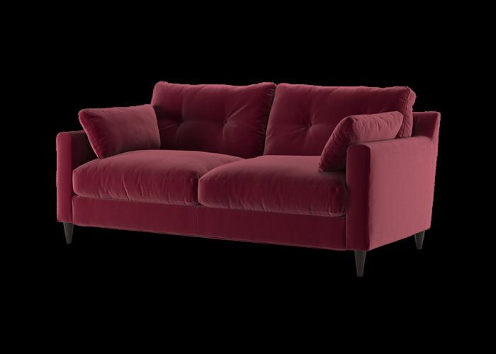 Virtue 3 Seater Sofa - Cozy Grape