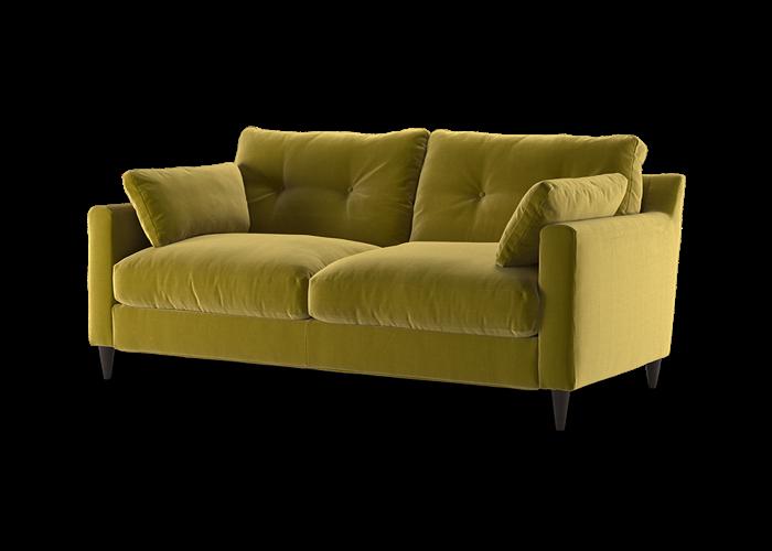 Virtue 3 Seater Sofa - Cozy Ochre