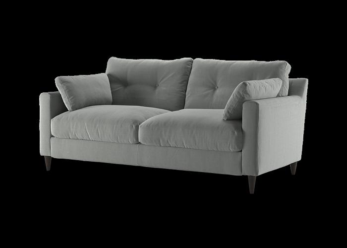 Virtue 3 Seater Sofa - Cozy Smoke
