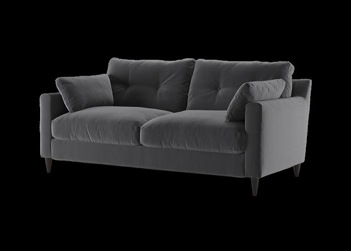Virtue 3 Seater Sofa - Cozy Steel