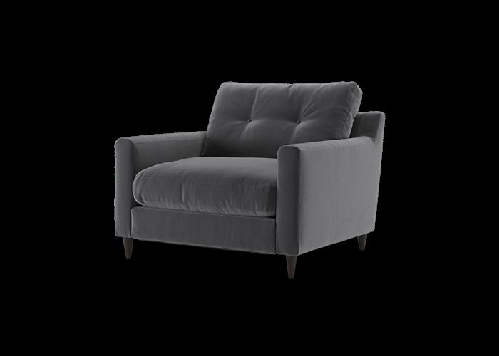 Virtue Chair - Cozy Steel