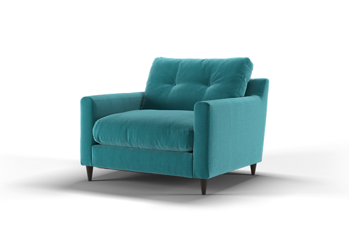 Virtue Chair - Cozy Teal