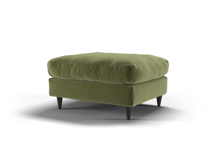 Virtue Footstool - Cozy Forest