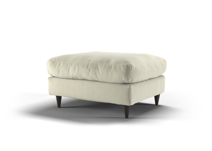 Virtue Footstool - Cozy Natural