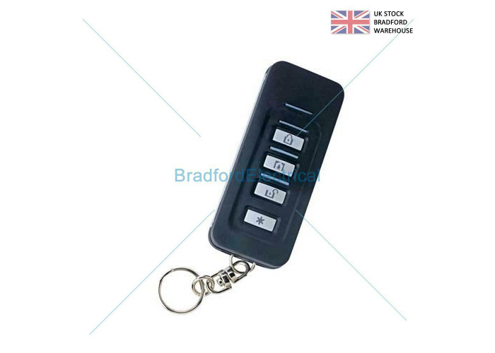 Visonic Powermaster KF-235 PG2 Wireless Keyfob Transmitter (868-1 UK) 0-102202 - 1