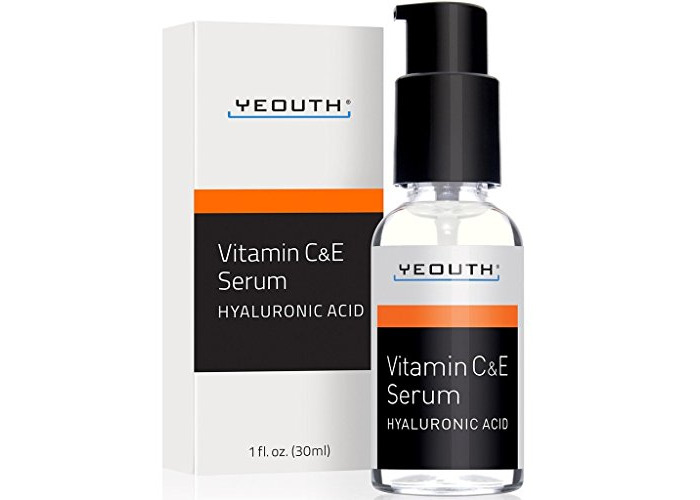 Vitamin C Serum For Day with Hyaluronic Acid Serum, Vitamin E, Anti Aging, Anti Wrinkle, Fill Fine Lines, Evens Skin Tone, Fades Age Spots, Medical Grade Skin Care Formula For Face - YEOUTH - 1