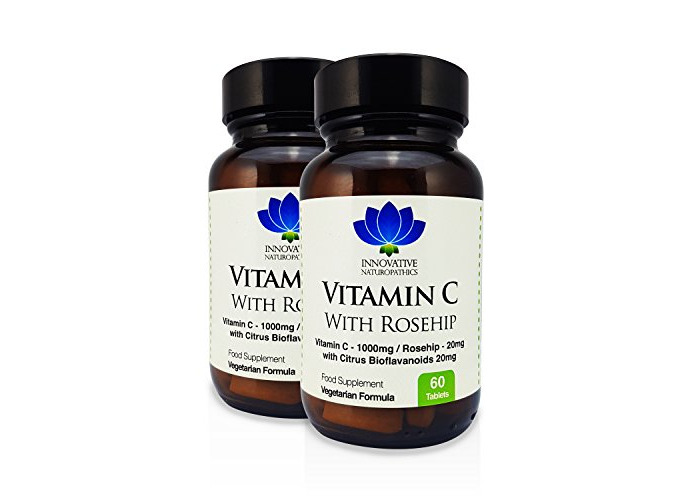 Vitamin C with Rosehip & Bioflavinoids - 60 Tablets (Pack of 2) - 1