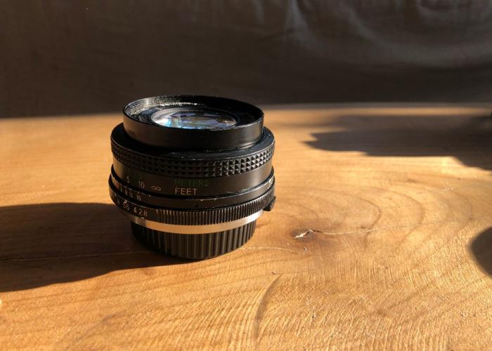Vivatar 28mm Vintage wide angle lens - 1