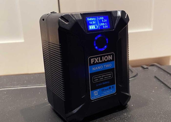V-Lock Battery 98Wh | USBC, USB, D-Tap - 1