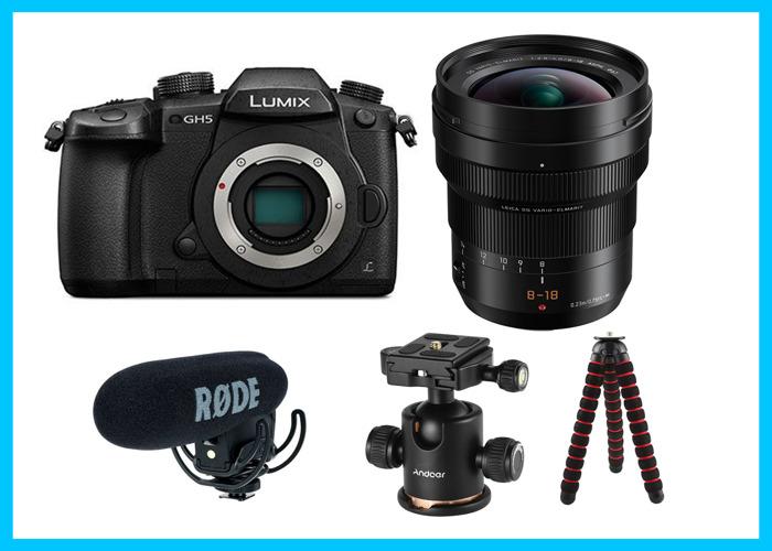 Vlogging Set Panasonic GH5 Videomic Pro Bendy Tripod - 1