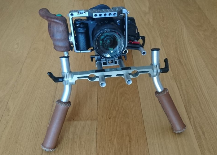 Rent Vocas Shoulder Rig & Tilta Cage for Sony a7Sii (and iii) in London