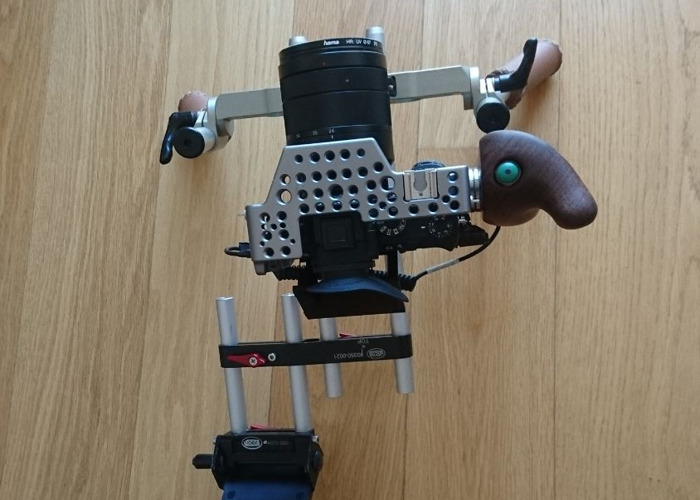 Rent Vocas Shoulder Rig & Tilta Cage for Sony a7Sii (and iii