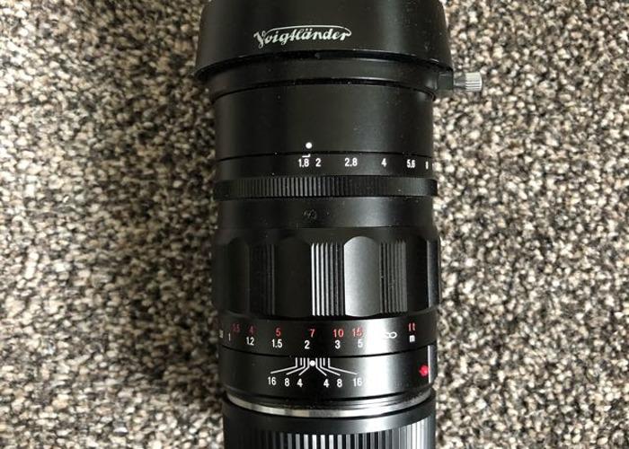 Voightlander 75mm f1.8 - 1